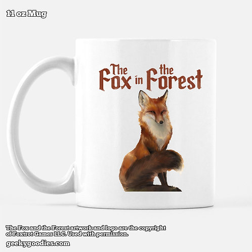 The Fox in the Forest Coffee Mug