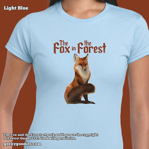 The Fox in the Forest Ladies T-shirts