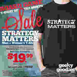 Board Game Shirt of the Month Sale   Geeky Goodies   Tshirts for tabletop and board gamers and analog gamers of all types   SALE!
