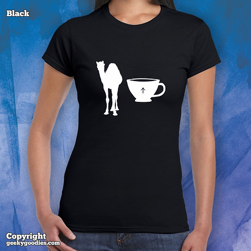 Camel Cup / Camel Up Women's Fitted T-shirts