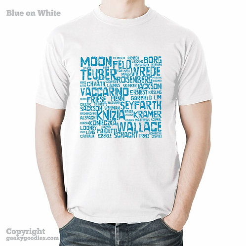 Board Game Designers Men's / Unisex White T-shirt