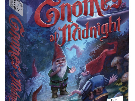 Great 2-Player Game: Gnomes at Midnight on Kickstarter