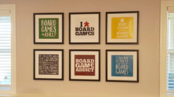 Board Game Room Posters