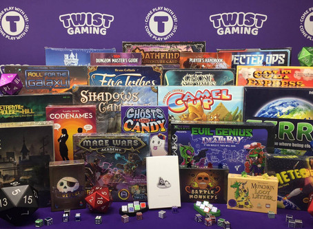 Contest Alert! Win a Huge Bundle of Tabletop Games from Twist Games (Value $250+)