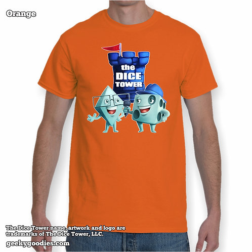 Dice Eric & Tom from The Dice Tower Men's/Unisex T-shirt (Light Colors)