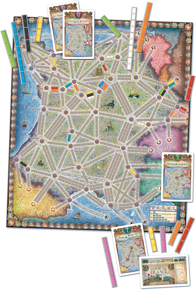 Ticket to Ride France and the Old West