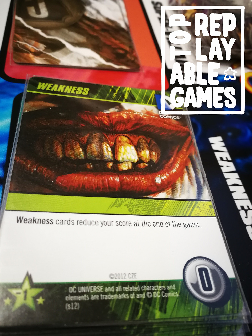 The DC Comics Deck-Building Game on its own doesn't get as much love as it deserves, in my opinion.