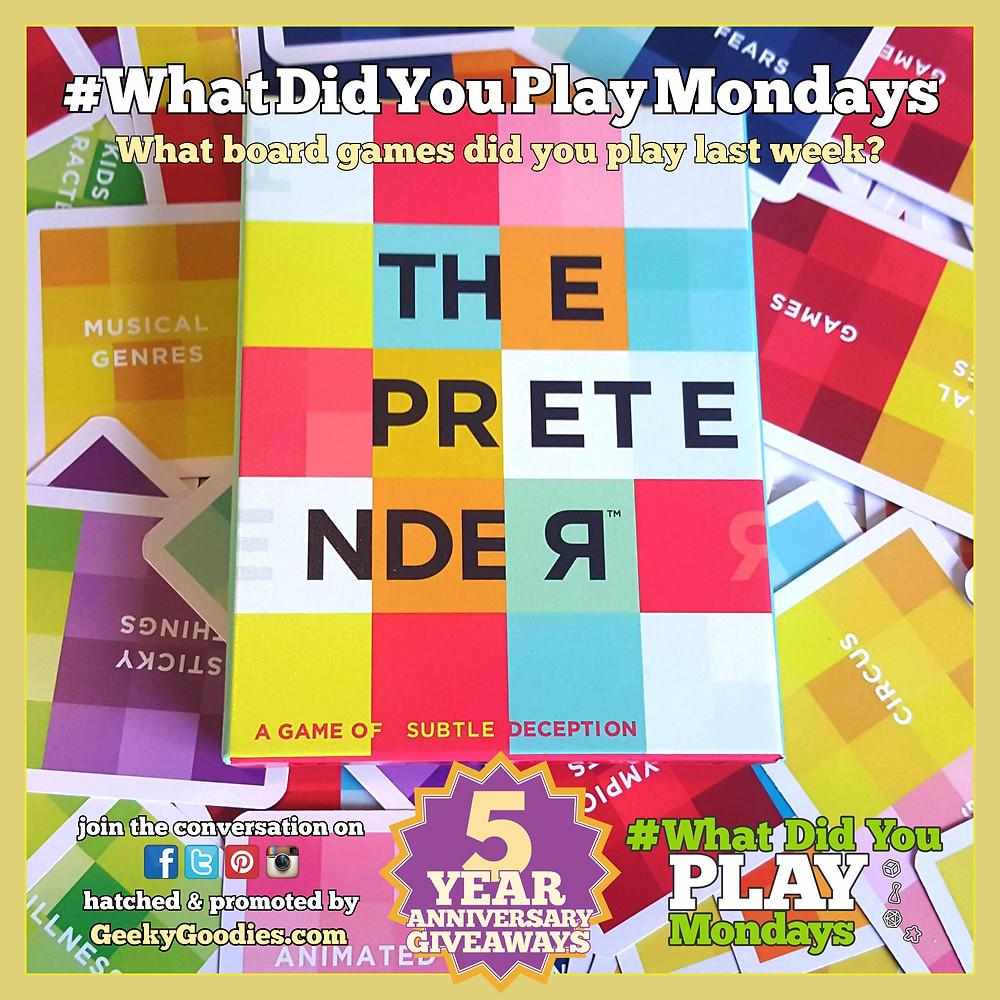 #WhatDidYouPlayMondays | Game in photo is The Pretender