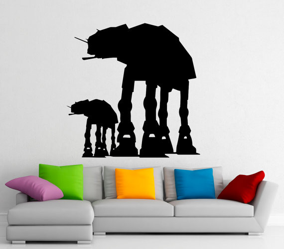 AT-AT Wall Decor Vinyl Decal | Geeky Goodies