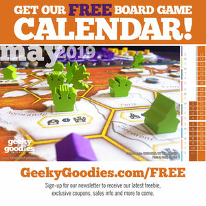 FREE Board Game Calendar for May 2019