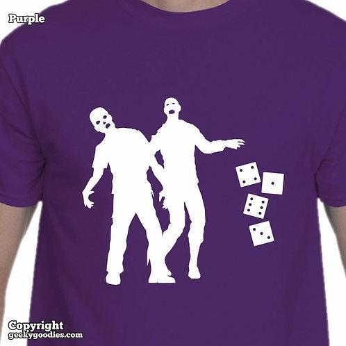 Zombie Dice Men's Tshirts