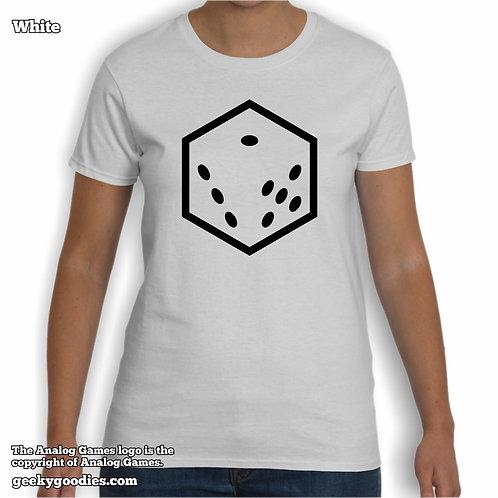 Analog Games Women's White T-shirt