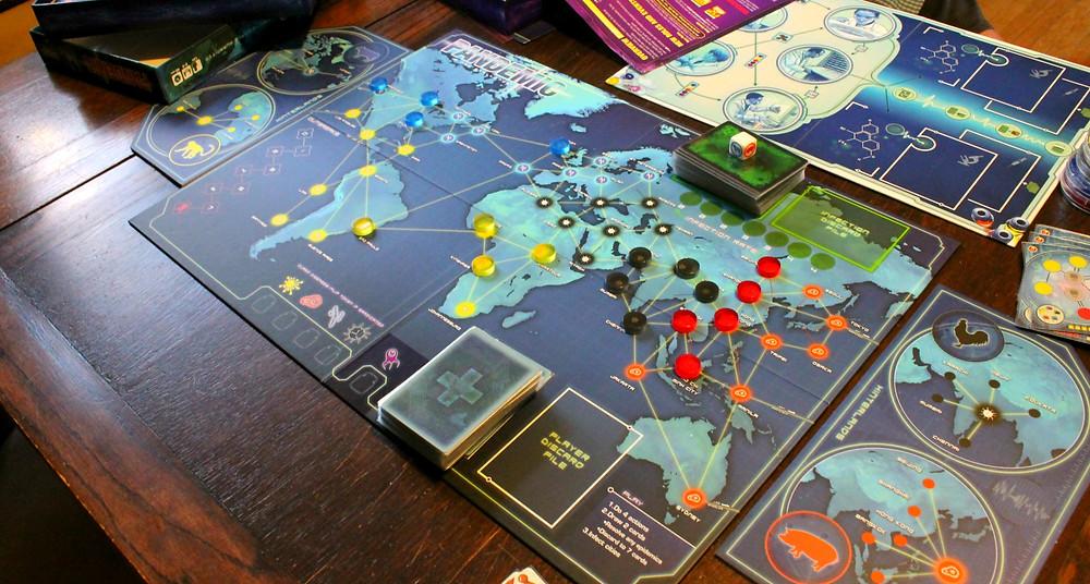 Pandemic designed by Matt Leacock
