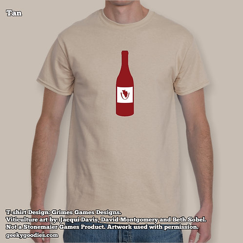 Viticulture Mens/Unisex T-shirt (Light Colors)