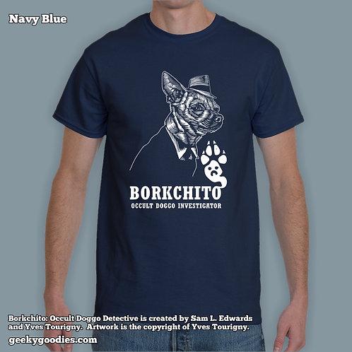 Borkchito: Occult Doggo Detective Mens/Unisex T-shirt