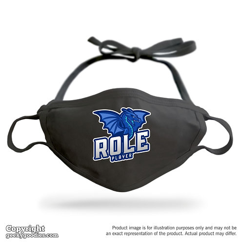 Role Player Adjustable Cloth Face Mask