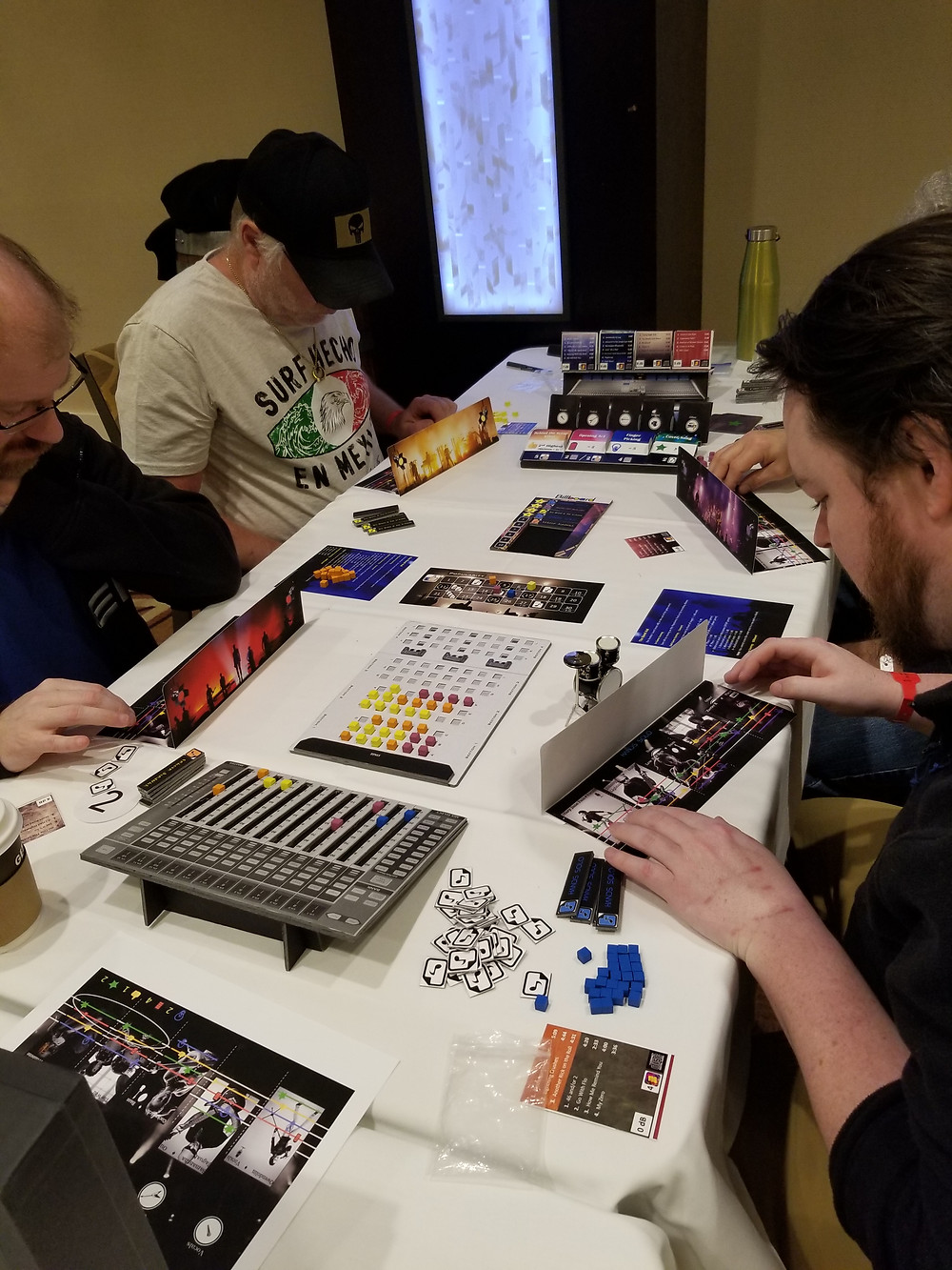 Playtesting The Isle of Rock 'n Roll.  Photo by Joe Slack. Used with permission