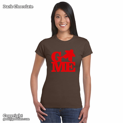 GAME (Meeple) Women's FITTED T-shirt