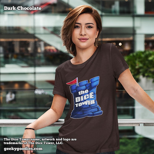 The Dice Tower Ladies T-shirts