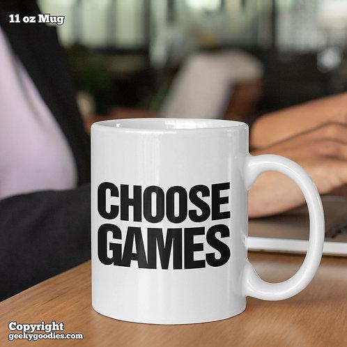 Choose Games Coffee Mugs