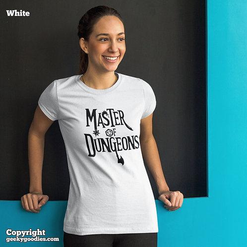 Master of Dungeons Ladies T-shirts