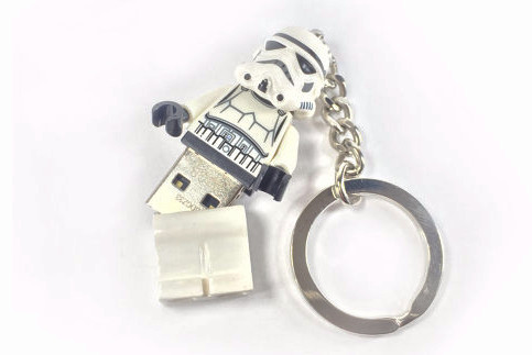 Lego Star Wars USB Stormtrooper Keychain | Geeky GOodies