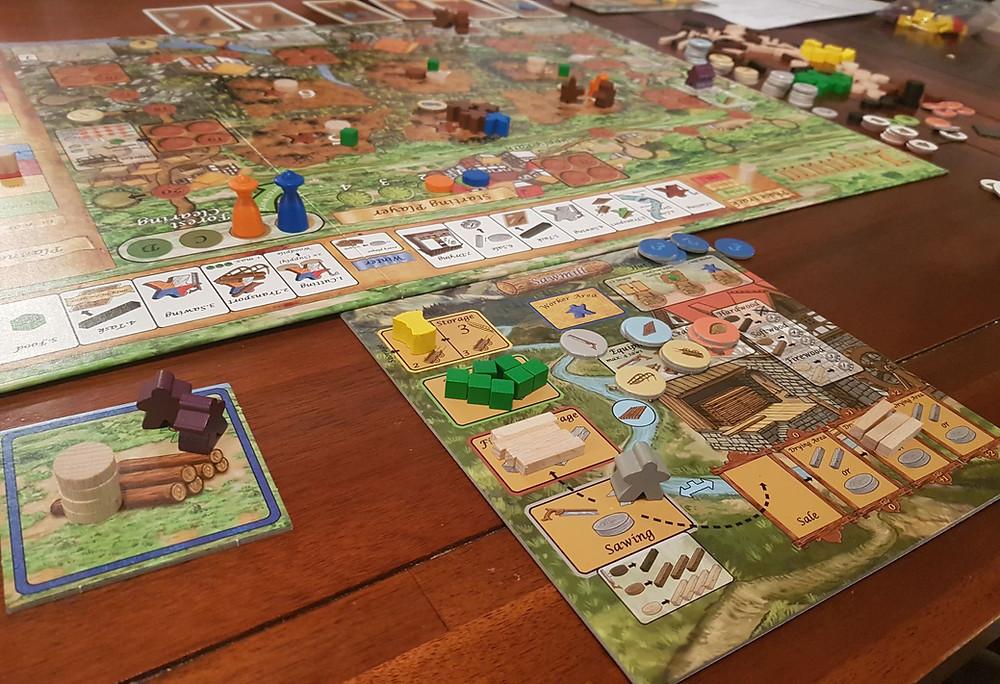 Ligum Board Game Review | Geeky Goodies