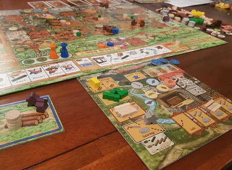 Board Game Review: Lignum