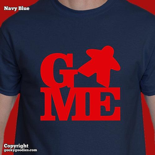 GAME (Meeple) Men's/Unisex T-shirt