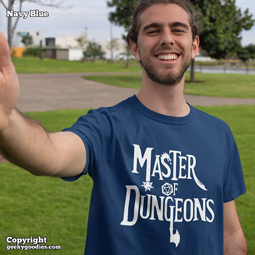 Master of Dungeons Mens/Unisex T-shirts