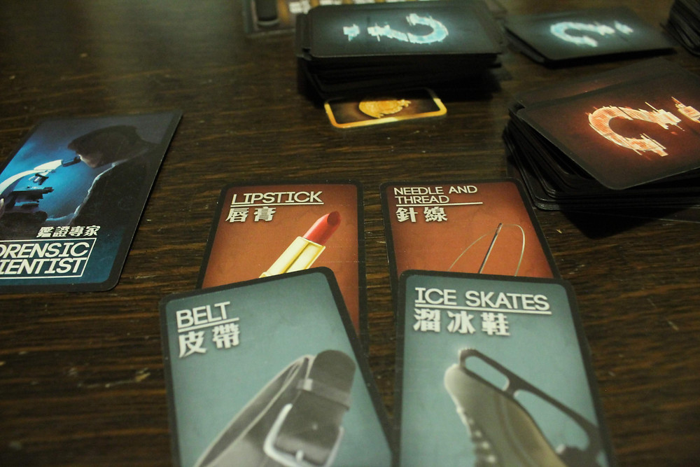 Cards from Deception: Murder in Hong Kong | Board Game Review | Geeky Goodies
