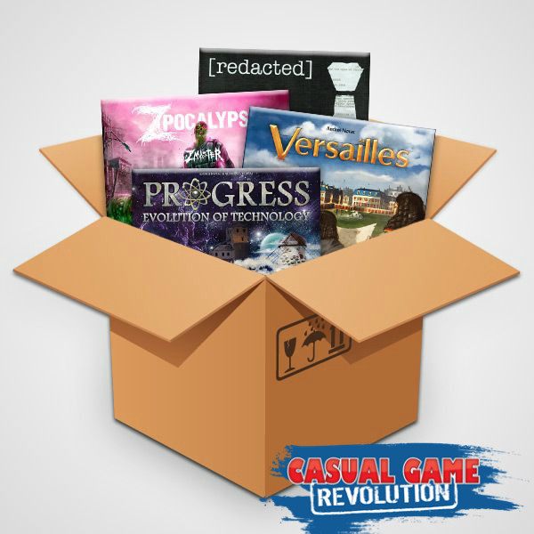 Contest Alert! Win a Big Box O' Strategy Games (from Casual Game Revolution) | Win Board Games | Contest to win Strategy Games