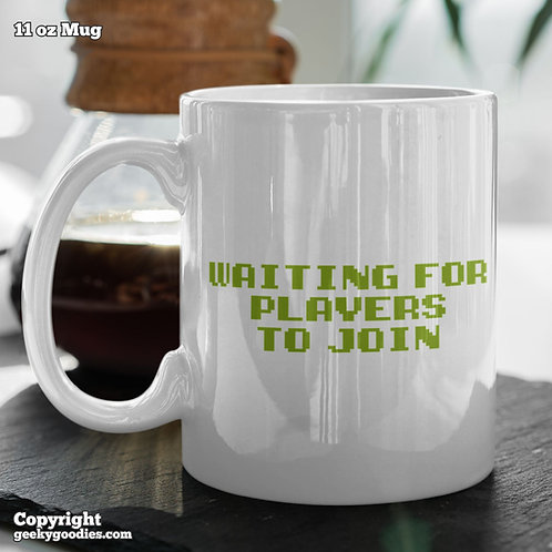 Waiting for Players to Join Coffee Mugs
