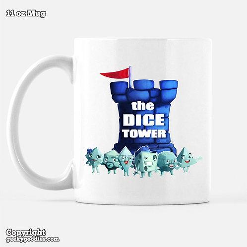 Dice Tower Gang (with Logo) Coffee Mugs