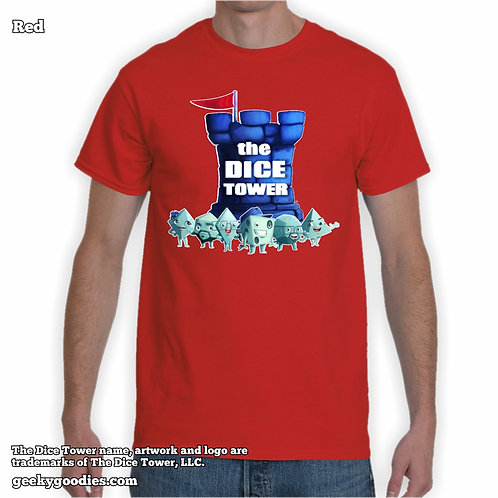 Dice Tower Gang (with Logo) Men's / Unisex T-shirt