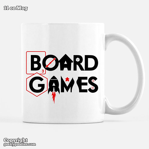 Board Games Coffee Mugs