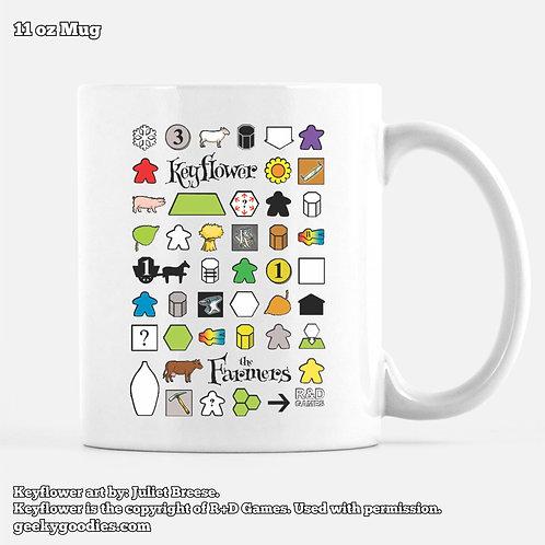 Keyflower: The Farmers Coffee Mugs