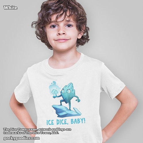 Ice Dice, Baby Dice Tower Superhero Children's T-shirts