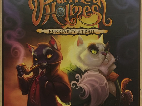 Purrrlock Holmes: Furriarty's Trail Board Game Review
