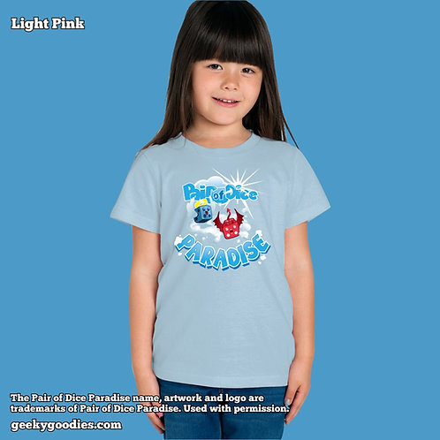 Pair Of Dice Paradise - Bouncy Clouds Children's T-shirt