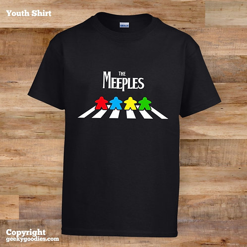The Meeples of Abbey Road Children's T-shirts