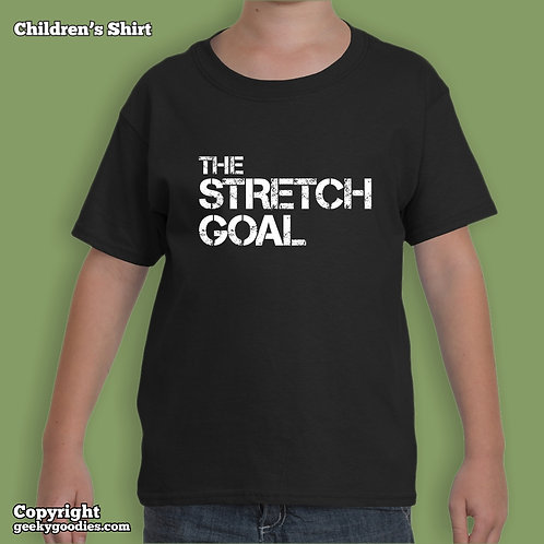 Stretch Goal Children's T-shirt  (Matching Board Game Family T-shirts)