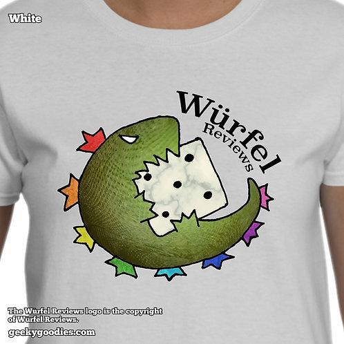 Würfel Reviews Women's White T-shirt