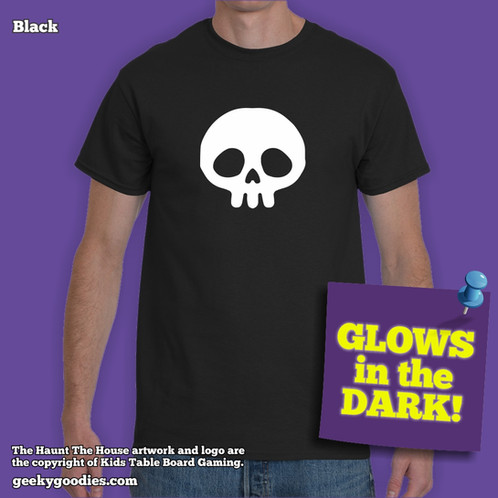 Haunt The House Glow In The Dark Skull Men S Unisex T Shirt