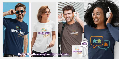 Board Game Chats Podcast Shirts