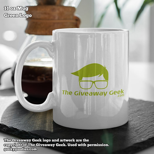 The Giveaway Geek Coffee Mugs