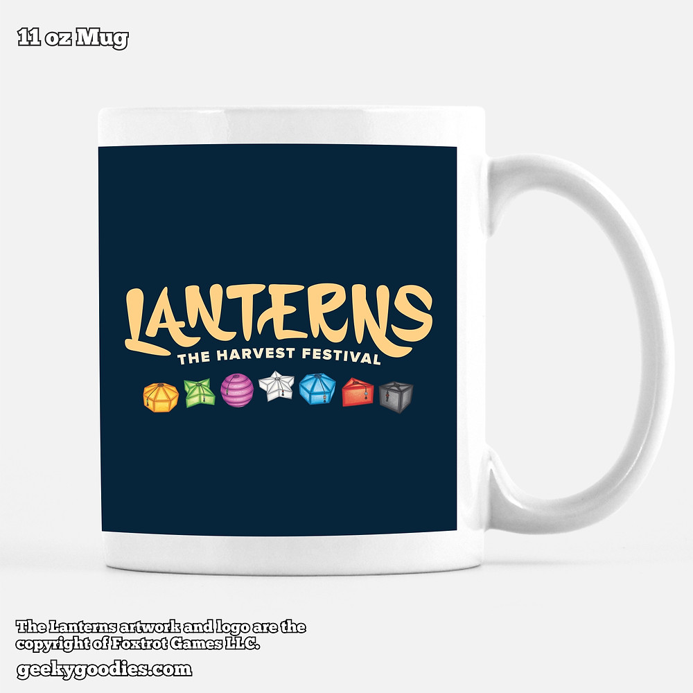 Lanterns: The Harvest Festival Coffee Mugs | Geeky Goodies | Foxtrot Mugs | Coffee Mugs for board gamers
