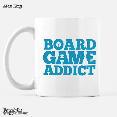 Board Game Addict Mug