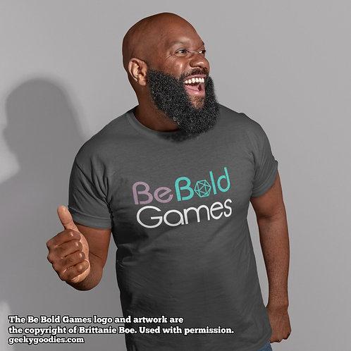Be Bold Games Logo Mens/Unisex T-shirts
