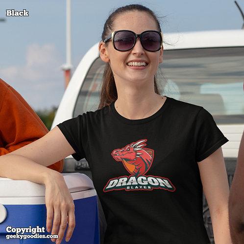 Dragon Slayer Ladies T-shirts